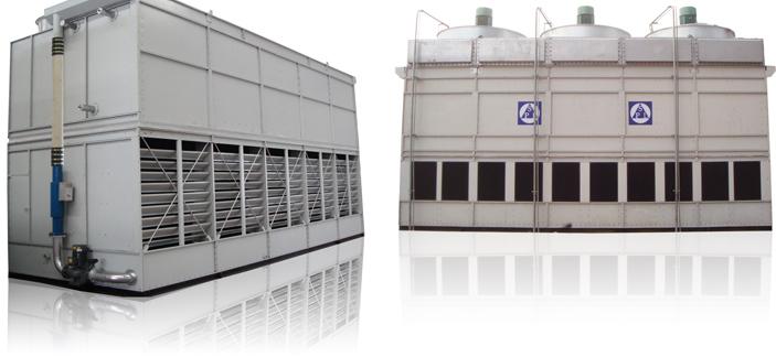 蒸发式冷凝器的结构与特点
